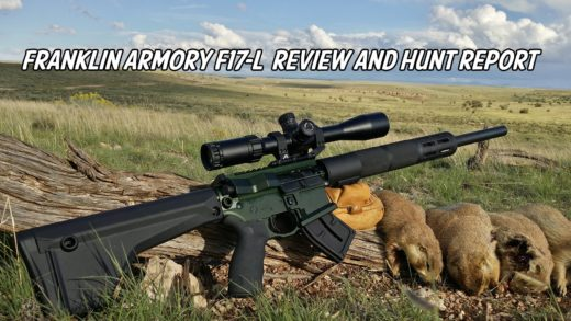 Franklin Armory F17-L – 17WSM Review and Hunt Report