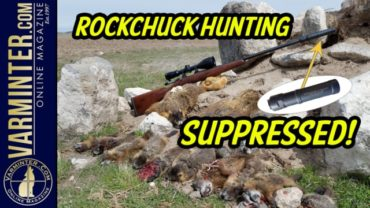 Rockchuck Hunting – Suppressed – 17 Hornet