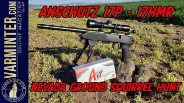 Anschutz-17P-17HMR-Nevada-Ground-Squirrel-Hunt-VTV-Title