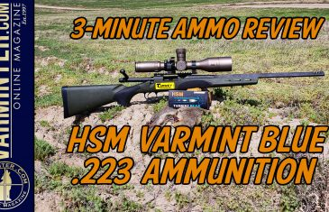 HSM Varmint Blue 223 Ammo Review