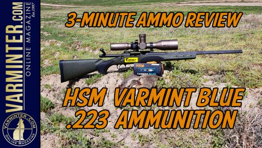 HSM-Varmint-Blue-223-Ammunition-Video-Title